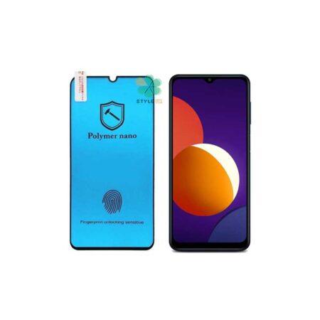 محافظ محافظ صفحه گلس گوشی سامسونگ Galaxy M12 مدل Polymer nano