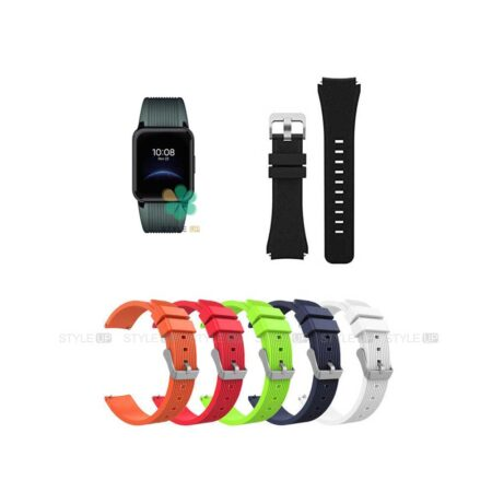خرید بند سیلیکونی ساعت ریلمی واچ Realme Watch 2 طرح گلکسی