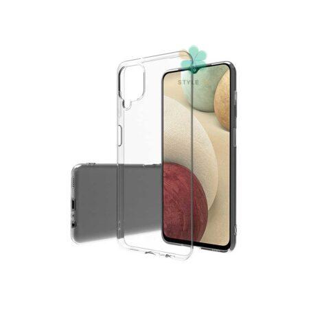 خرید قاب گوشی سامسونگ Samsung Galaxy A12 مدل ژله ای شفاف