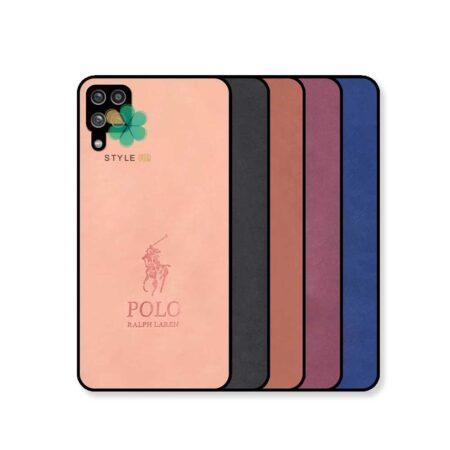 خرید قاب گوشی سامسونگ Samsung Galaxy A12 پارچه ای طرح پولو