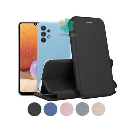 خرید کیف کلاسوری چرمی گوشی سامسونگ Samsung Galaxy A32 4G
