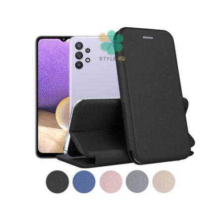 خرید کیف کلاسوری چرمی گوشی سامسونگ Samsung Galaxy A32 5G