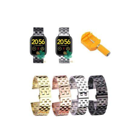 خرید بند ساعت هوشمند شیائومی Xiaomi Omthing E-Joy WOD001 استیل 5Bead