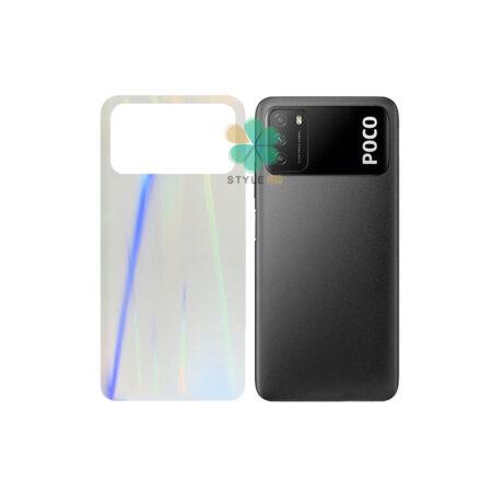 خرید برچسب نانو پشت گوشی شیائومی Poco M3 مدل رنگین کمان