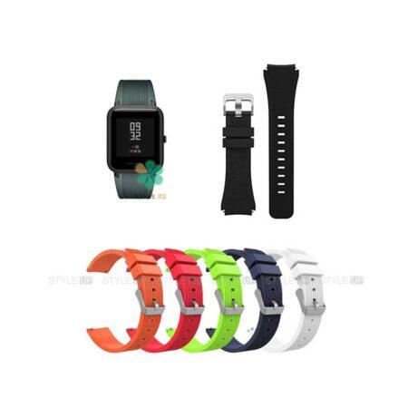 خرید بند سیلیکونی ساعت شیائومی Xiaomi Amazfit Bip Lite طرح گلکسی