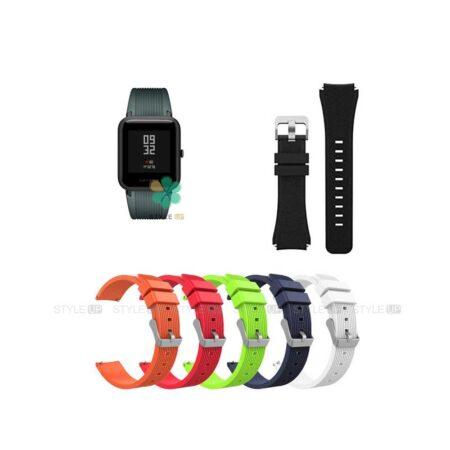 خرید بند سیلیکونی ساعت شیائومی Xiaomi Amazfit Bip S طرح گلکسی