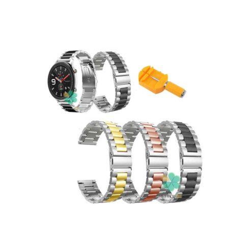 خرید بند ساعت شیائومی Xiaomi Amazfit GTR Lite مدل استیل دو رنگ