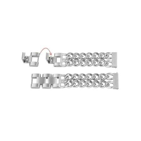 خرید بند ساعت هوشمند شیائومی Haylou RT LS05S مدل استیل زنجیری
