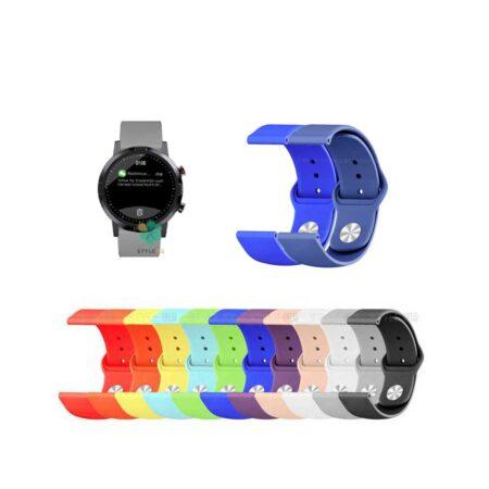 خرید بند سیلیکونی ساعت شیائومی Xiaomi Haylou RT LS05S مدل دکمه ای