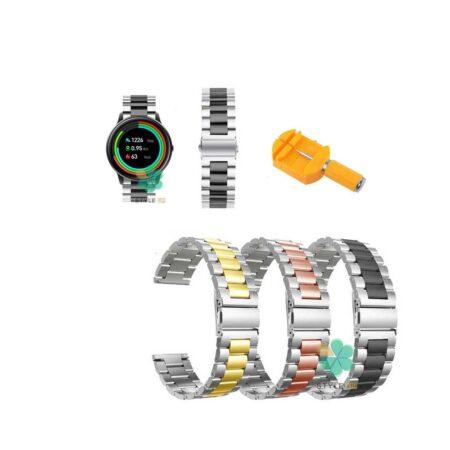 خرید بند ساعت شیائومی Xiaomi IMILAB KW66 مدل استیل دو رنگ