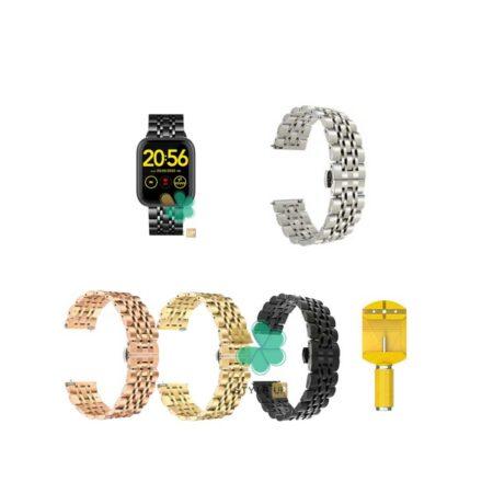خرید بند ساعت هوشمند شیائومی Omthing E-Joy WOD001 استیل رولکسی