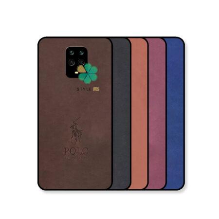 خرید قاب گوشی شیائومی Redmi Note 9s / 9 Pro پارچه ای طرح پولو