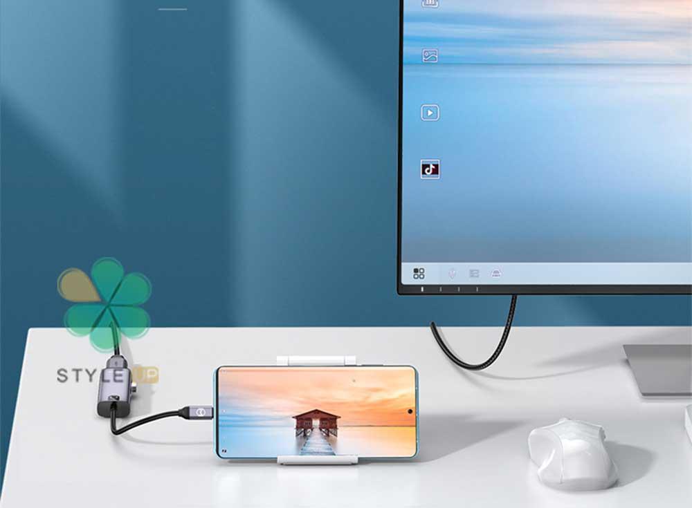 خرید هاب 5 پورت USB-C مک دودو مدل MCDODO HU-7750