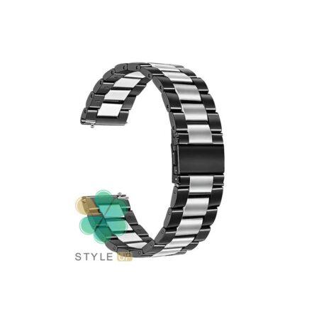 خرید بند ساعت امازفیت Amazfit GTS 2e مدل استیل دو رنگ