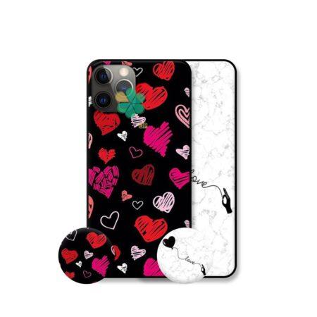 قیمت قاب هنری گوشی اپل ایفون Apple iPhone 12 Pro Max مدل Love Art