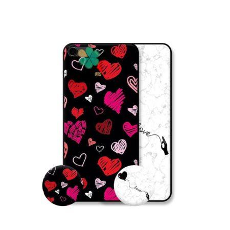 خرید قاب هنری گوشی اپل ایفون Apple iPhone 5 / 5s / SE مدل Love Art