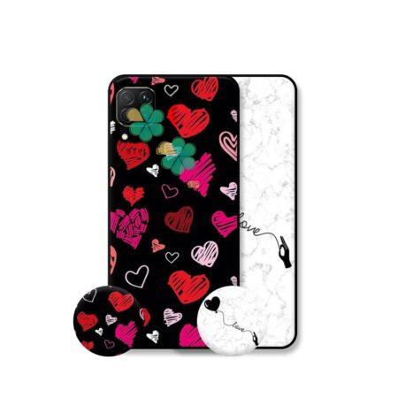 خرید قاب هنری گوشی هواوی Huawei Nova 6 SE مدل Love Art