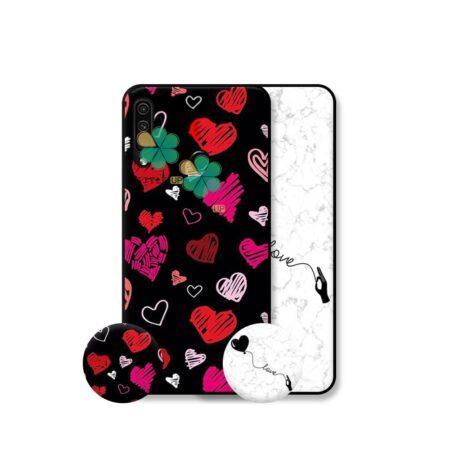 خرید قاب هنری گوشی هواوی Huawei P30 Lite / Nova 4e مدل Love Art