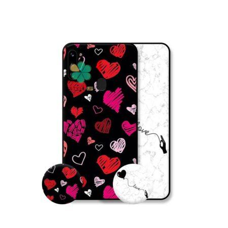 خرید قاب هنری گوشی سامسونگ Samsung Galaxy A11 مدل Love Art