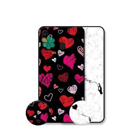 خرید قاب هنری گوشی سامسونگ Samsung Galaxy A20 مدل Love Art