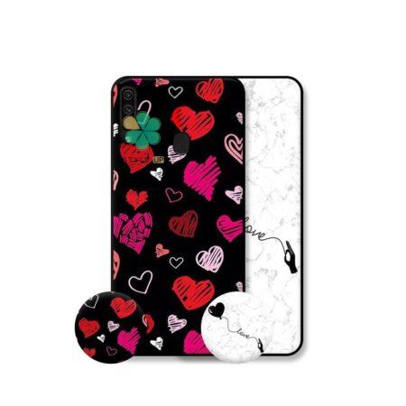 خرید قاب هنری گوشی سامسونگ Samsung Galaxy A20s مدل Love Art