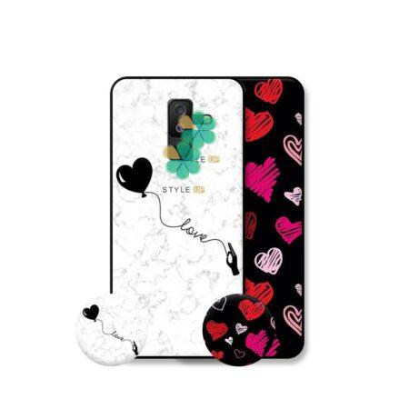 خرید قاب هنری گوشی سامسونگ Galaxy A6 Plus 2018 مدل Love Art