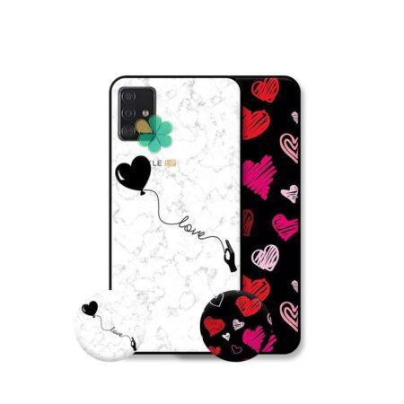 خرید قاب هنری گوشی سامسونگ Samsung Galaxy A71 مدل Love Art