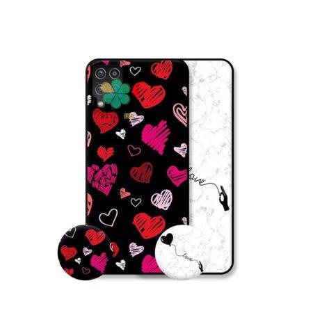 خرید قاب هنری گوشی سامسونگ Samsung Galaxy F62 مدل Love Art