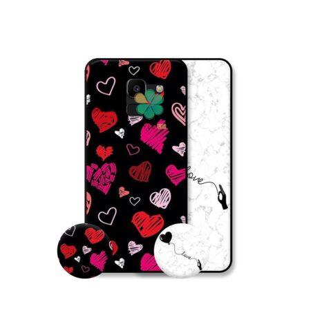 خرید قاب هنری گوشی سامسونگ Samsung Galaxy J6 مدل Love Art