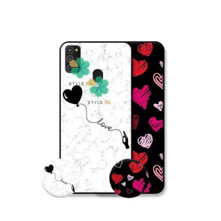 خرید قاب هنری گوشی سامسونگ Samsung Galaxy M21 مدل Love Art