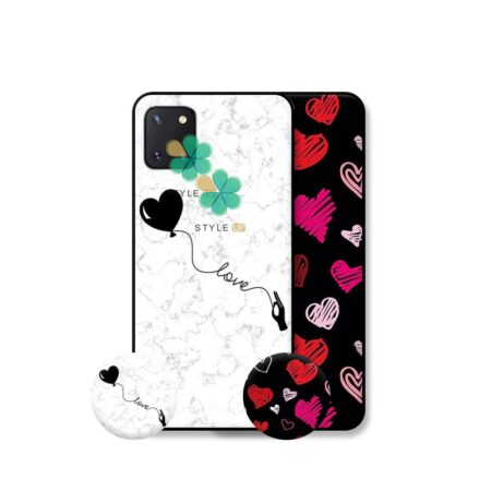 خرید قاب هنری گوشی سامسونگ Galaxy Note 10 Lite / A81 مدل Love Art
