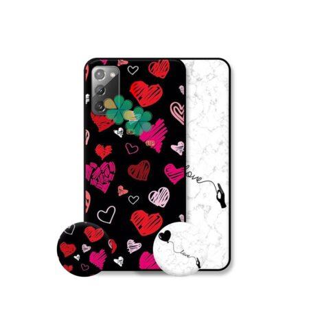 خرید قاب هنری گوشی سامسونگ Galaxy Note 20 مدل Love Art