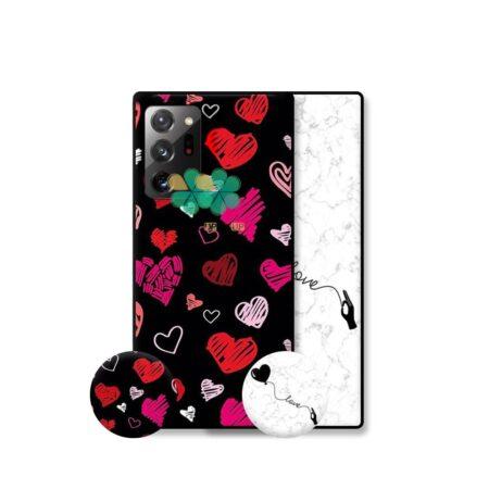 خرید قاب هنری گوشی سامسونگ Galaxy Note 20 Ultra مدل Love Art