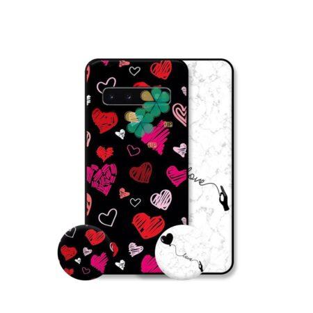 خرید قاب هنری گوشی سامسونگ Samsung Galaxy S10 مدل Love Art