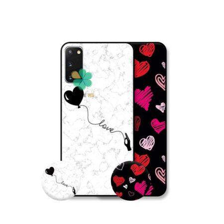 خرید قاب هنری گوشی سامسونگ Samsung Galaxy S20 مدل Love Art