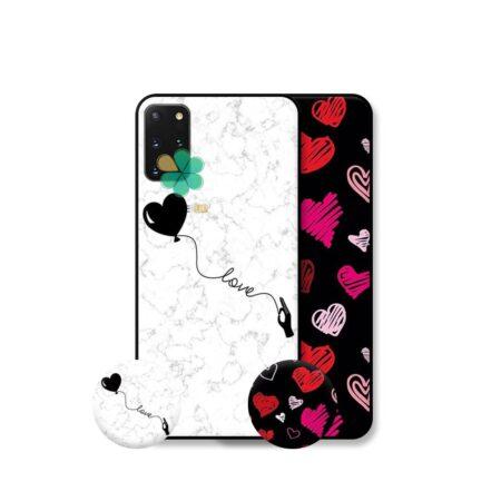 خرید قاب هنری گوشی سامسونگ Galaxy S20 Plus مدل Love Art