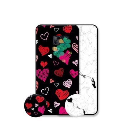 خرید قاب هنری گوشی سامسونگ Samsung Galaxy S7 Edge مدل Love Art
