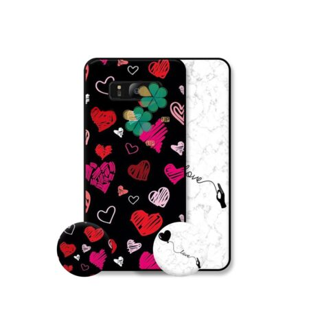 خرید قاب هنری گوشی سامسونگ Samsung Galaxy S8 مدل Love Art