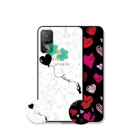 خرید قاب هنری گوشی شیائومی Xiaomi Mi 10T مدل Love Art