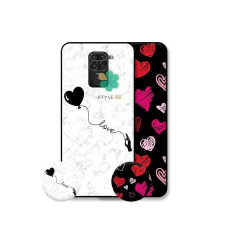 خرید قاب هنری گوشی شیائومی Xiaomi Redmi Note 9 مدل Love Art