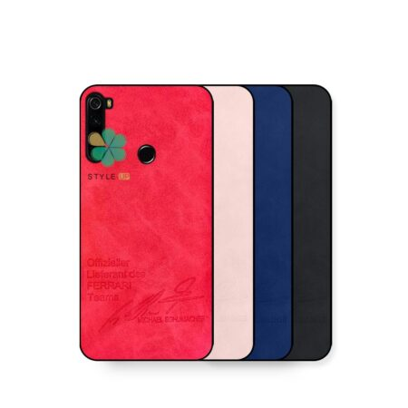 خرید کاور چرم گوشی شیائومی Xiaomi Redmi Note 8 طرح Autograph