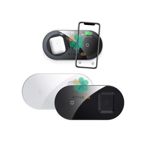 خرید شارژر وایرلس دوکاره بیسوس Baseus Simple 2in1 Pro WXJK-C01
