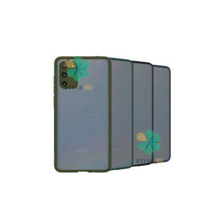 خرید قاب گوشی سامسونگ Galaxy M02s مدل پشت مات محافظ لنزدار