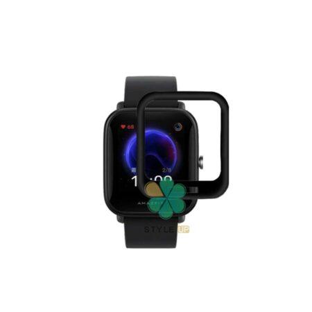 قیمت گلس سرامیکی ساعت شیائومی Xiaomi Amazfit Bip U Pro مدل دور مشکی