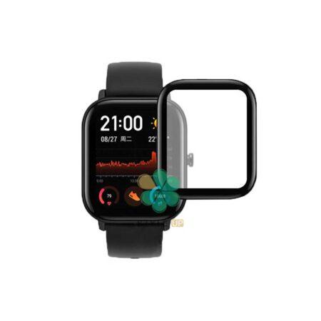 خرید گلس سرامیکی ساعت شیائومی Xiaomi Amazfit GTS مدل دور مشکی