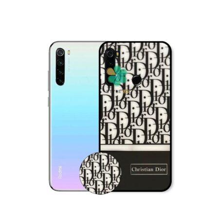 خرید کاور گوشی شیائومی Redmi Note 8 2021 طرح Christian Dior