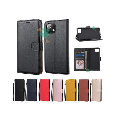 خرید کیف چرم گوشی شیائومی Mi 11 Lite مدل ایمپریال قفل دار