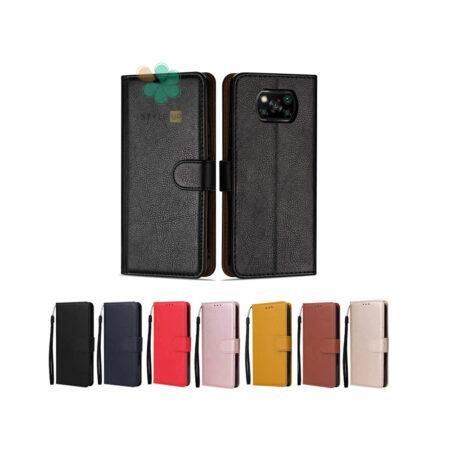 خرید کیف چرم گوشی شیائومی Xiaomi Poco X3 مدل ایمپریال قفل دار
