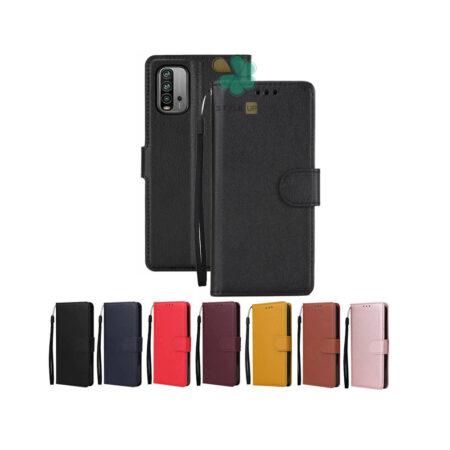 خرید کیف چرم گوشی شیائومی Redmi 9 Power مدل ایمپریال قفل دار