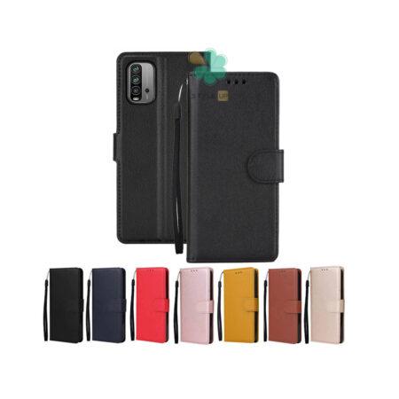 خرید کیف چرم گوشی شیائومی Redmi 9T مدل ایمپریال قفل دار